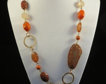The Speckled Stone Necklace