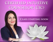 Enrollment Closed for 2016 for Live Certified Intuitive Counselor Course. Payment Plan Options Available.