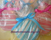 Gender Reveal Pink and Blue Chocolate Covered Oreos Cookies Baby Shower Favors Christening Favors Baptism Favors Cookies Treats Edible Favor