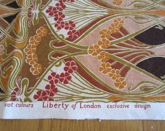 Ianthe Liberty of London Furnishing Weight Fabric Vintage 1970s