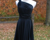 USA, SALE, Little Black Dress  Ready to Go, convertible dress, infinity dress