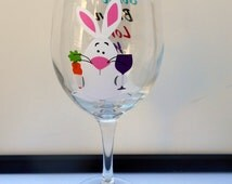 popular items for funny wine glass on etsy. Black Bedroom Furniture Sets. Home Design Ideas