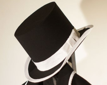 Custom Top Hats---Made from Amazing Wools and Silks