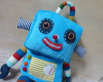 Robot - big  plush soft robot toy