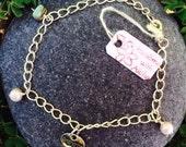 Silver Charm link bracelet