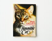 Vintage 1970s Cat Photography and Poetry Book / Rad Vintage Cat Book / Cat Lovers Book / Feline Photography / Cat Poetry
