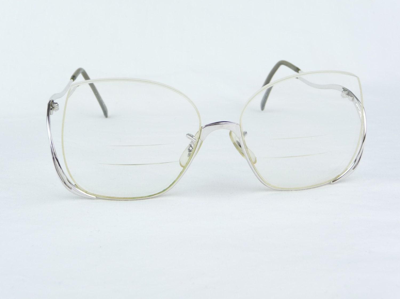 Glasses Frames Metal : vintage eyeglasses vintage eyewear metal frame vintage