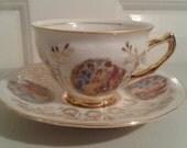 Bavarian tea cup and saucer set