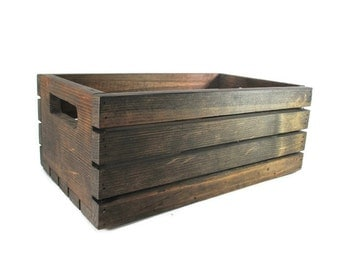 Wood Crate - Stackable Storage Options. Great for displays at Craft Fairs!