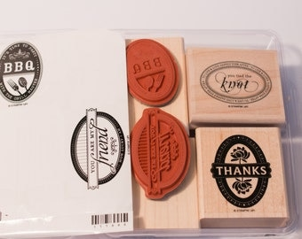Only Ovals Stampin' Up retired stamp set