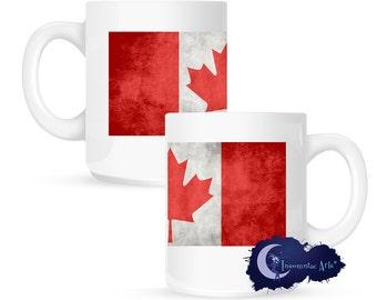 Canadian Flag 15 oz Coffee Mug