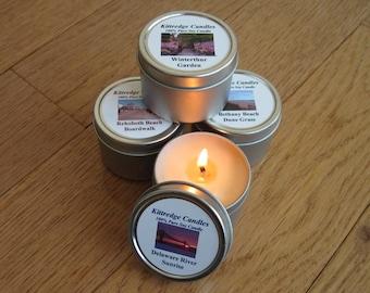 DELAWARE SAMPLER (four 2-oz soy candles)