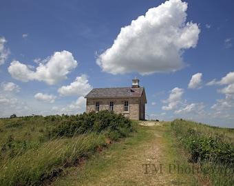 Flint Hills - Tallgrass Prairie Preserve - Bar Z Ranch - Lower Fox Creek School - Prairie - Kansas - Fine Art Photography-