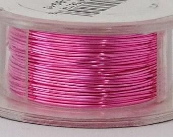 26GA Beadsmith Bubble Gum Color Non-Tarnish  Wire 15 Yards  SALE