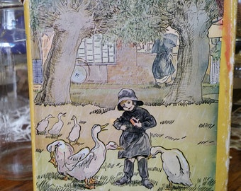 SALE - Vintage 1949 A.A. Milne Book, Now We Are Six from Rustysecrets