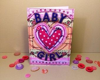 Baby Girl - New Baby Girl - Congratulations - New Baby
