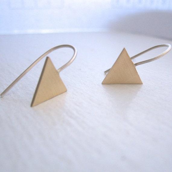 geometric triangle drop dangle earringstribal aztec arrow. Black Bedroom Furniture Sets. Home Design Ideas