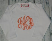 Personalized Shirt or bodysuit - Custom You choose font and Color