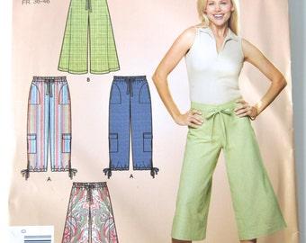 Misses Gauchos & Cropped Pants - Simplicity 4234 Pattern - UNCUT
