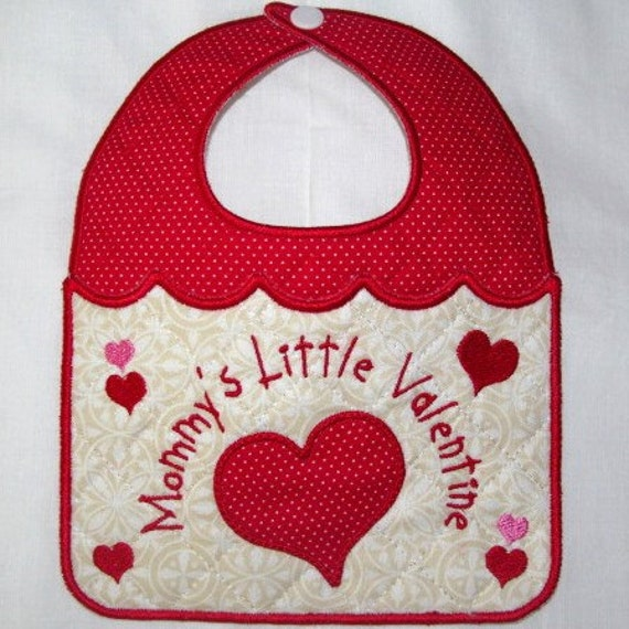 machine embroidery baby bib designs