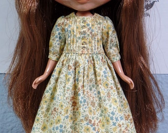 Mori dress for blythe - Liberty