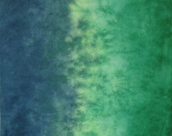 Mangroves Gradient Hand Dyed Fabric