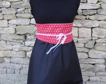 Dress Chihiro redhood and obi belt