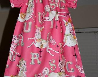 Carousel Horses Dress