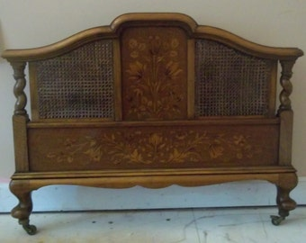 English Walnut Bed, 1918-1925