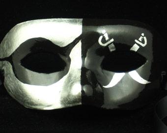 Raiders Sports Mask, Oakland Raiders Football paper mache masquerade mask