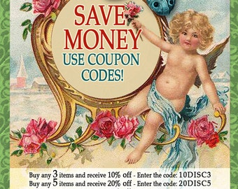 Use These DISCOUNT CODES To Save Money On Your Order - Do not purchase this listing.