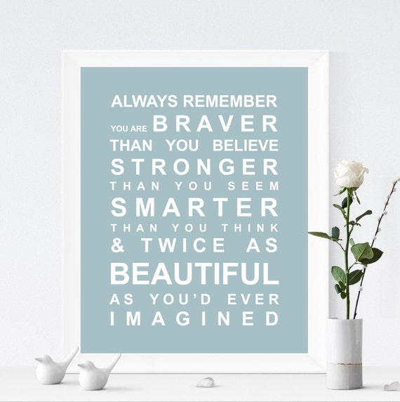 Always Remember - Typography Bus Roll Wall Art Print