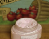 STRAWBERRY Cake Batter Ice Cream Whipped Soap Parfait- 4oz. Great Shaving Soap