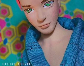 First Love Gay Boy doll wig Blade