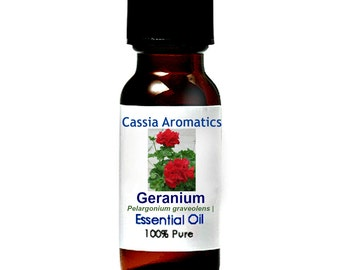 Geranium Essential Oil Certified Pure Grade 100% Pure choose your size