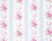 Boutique Sewing Fabrics Tanya Whelan Slipper Roses Blue Perfect for Girls, Women and Home Decor Sewing