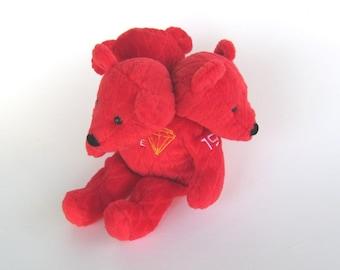 Cerbearus, Cerberus 3 headed bear recycled stuffed toy monster