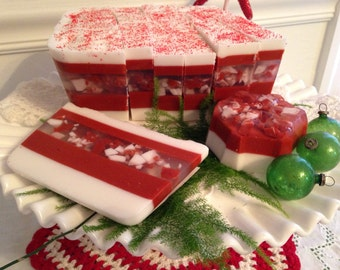 Peppermint EO Loaf Soap Slice