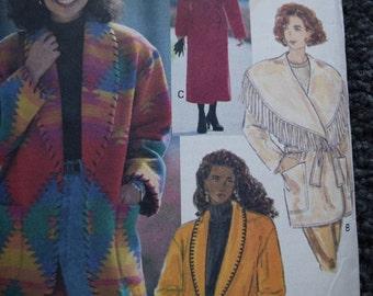 Butterick 3026 Misses Coat and Jacket Size 8-10-12 (Uncut)