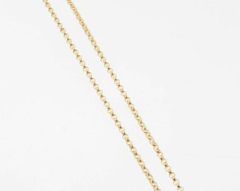 22 Inch 14K Gold Filled 1.4mm Rolo Chain With Lobster  Clasp - All Lengths Available
