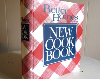 Vintage Better Homes and Gardens New Cookbook 1989