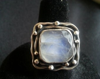 Moonstone Orbit Ring