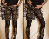 Kissin' Bombs studded leopard pants