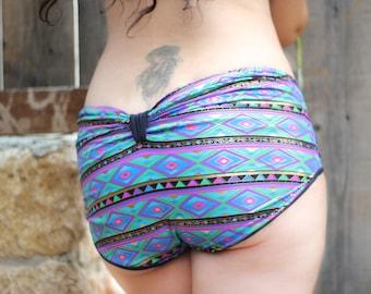 Bow Bikini ,Aztec Swimwear ,  Low Rise Boy Short Swimsuit ,  Pregnancy Bikinis , Two Piece Swimwear , Maternity Swimsuit