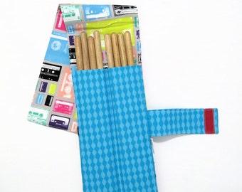 Drum Stick Bag - Cassette - drum stick holder music gear drum gear