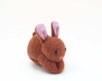 Bunny Rabbit, ecofriendly stuffed toy, all natural toy, waldorf bunny, waldorf rabbit, toy stuffed bunny, small stuffed toy,