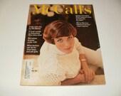 Vintage McCalls Magazine April 1967 - Julie Andrews Cover, Vintage Hip 1960s Fashions, Ads, Scrapbooking