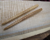 Oregon Big Leaf Maple hair sticks.