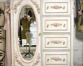 Painted Cottage Chic Shabby Romantic French  Dresser LGCH23