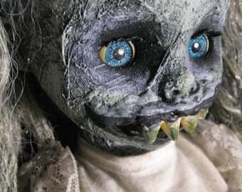 Abigail - Horror Doll Art Print